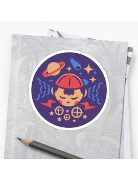 Psi Power Sticker by Minilla