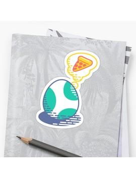 Pizza Dream Sticker by Minilla