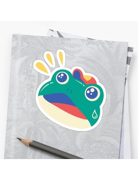 Slipping Toad Sticker by Minilla