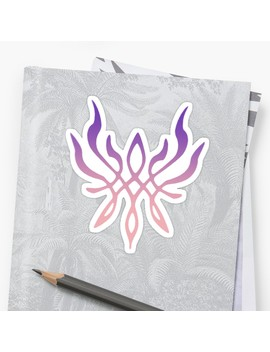Crest Of Flames Sticker by Zeroshadows