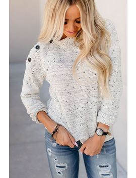 Bailey Button Neck Sweater by Mindy Mae's Market
