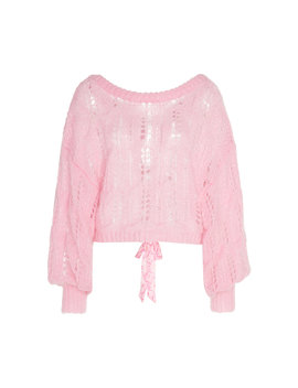 Eugenia Knit Pullover by Love Shack Fancy
