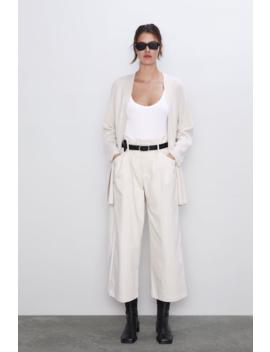 Belted Cardigan View All Knitwear Woman by Zara