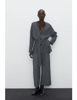 Knit Culotte Pants View All Pants Woman by Zara