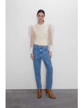 Z1975 Mom Fit Jeans With Pockets View All Jeans Woman by Zara