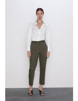 Pocket Cargo Pants View All Pants Woman by Zara