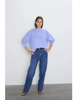 Solid Color Soft Feel Sweater  View All Knitwear Woman by Zara