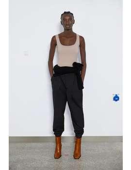Wide Strap Stretch Top Sleeveless T Shirts Woman by Zara