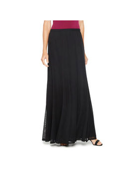 Onyx Womens Mid Rise Maxi Skirt by Onyx