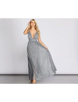 Marian Metallic Formal Dress by Windsor