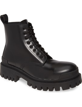 Strike Plain Toe Boot by Balenciaga