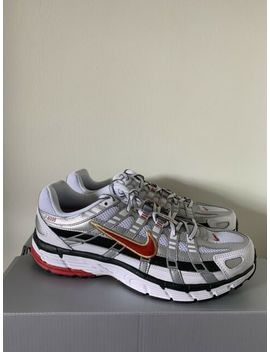 Nike P 6000 Cnpt Womens Size 11.5 White Red Silver Running Bv1021 101 Mens Sz 10 by Ebay Seller