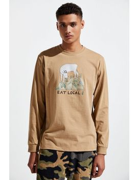 Patagonia Eat Local Goat Responsibili Tee® Long Sleeve Tee by Patagonia