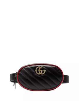Gg Marmont Leather Belt Bag by Gucci