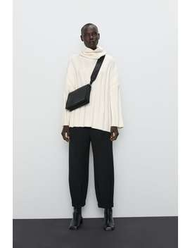 Soft Feel Oversized Sweater New Inwoman by Zara
