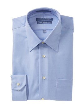 Non Iron Tailored Fit Dress Shirt by Forsyth Of Canada