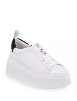 Moon Platform Chunky Sneakers, White/Black by Ash