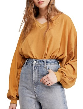 Buffy Blouson Sleeve T Shirt by Free People