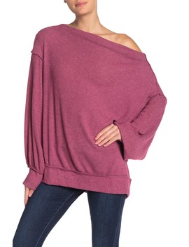 Main Squeeze Off The Shoulder Knit Sweater by Free People
