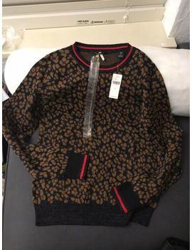 Scotch & Soda Leopard Prints Sweater, New With Tag, Size S by Scotch & Soda