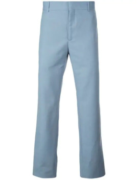 Straight Leg Tailored Trousers by Alexander Mc Queen