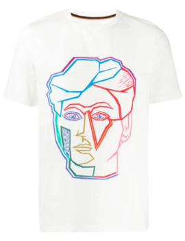 Face Print T Shirt by Paul Smith