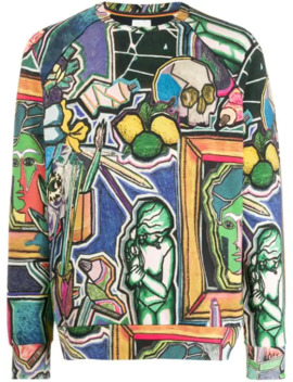 Artist Studio Print Sweatshirt by Paul Smith