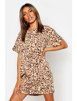 Animal Print Shift Dress by Boohoo