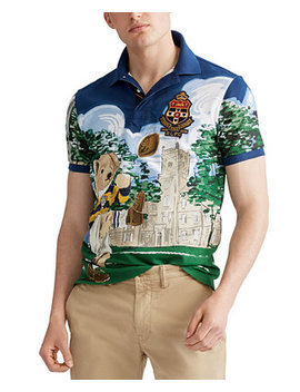 Men's Custom Slim Fit Bear Polo by General