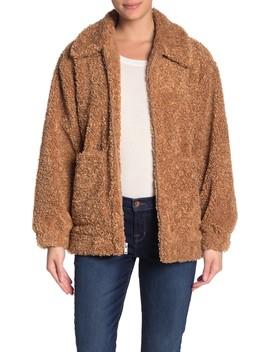 Kaley Faux Fur Teddy Bear Jacket by Ugg