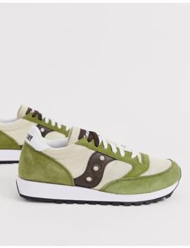 Saucony Jazz Original Sneakers In Green by Saucony