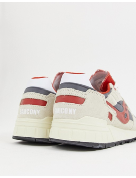 Saucony Shadow 5000 Vintage Sneaker In Off White by Saucony