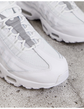 Nike Air Max 95 Sneakers In White by Nike