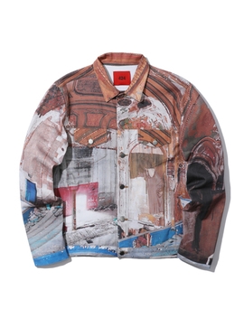 Eastown Theater Denim Jacket by 424