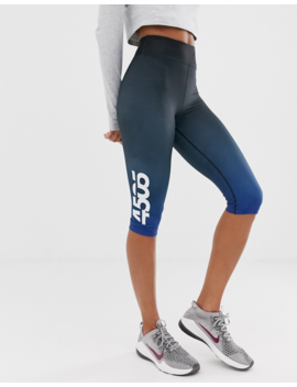 Asos 4505 Crop Legging In Dip Dye by Asos 4505