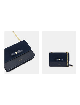 Bow Detail Suede Trim Cross Body by Ted Baker