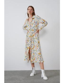 Print Dress  Best Sellerstrf by Zara