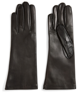 Mid Length Leather Gloves by Holt Renfrew