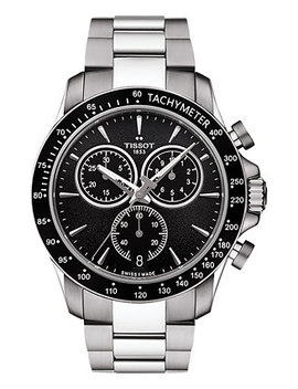 Men's Swiss Chronograph V8 Stainless Steel Bracelet Watch 42mm T1064171105100 by General