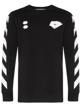 Card Print T Shirt by Off White