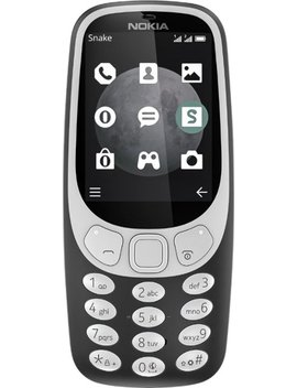 3310 Cell Phone (Unlocked)   Charcoal by Nokia