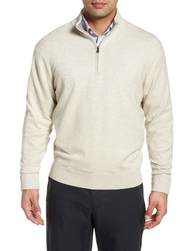 Lakemont Classic Fit Quarter Zip Sweater by Cutter & Buck