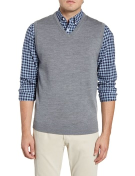 Merino Wool Sweater Vest by Nordstrom Men's Shop