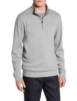 Solid Quarter Zip Pullover by Nordstrom Men's Shop