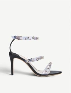 Rosalind Leather And Vinyl Sandals 85 by Sophia Webster