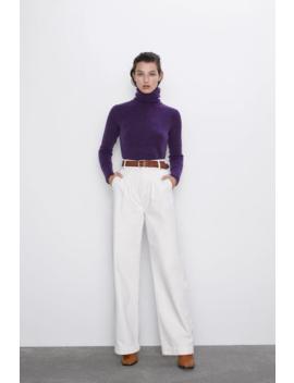 Alpaca And Wool Sweater New Inwoman by Zara