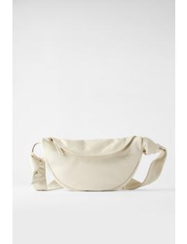 Leather Crossbody Belt Bag Crossbody Bags Bags Woman by Zara