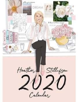 Heather Stillufsen Calendar   Small Calendar Classic 5x7 Calendar 2020   Calendar 2020 by Etsy