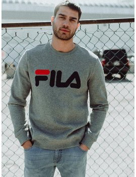 Mens Regola Crew   Gry/Nvy/Red by Filafila