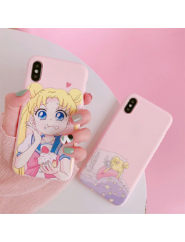 Cute Sailor Moon Phone Case For Huawei P20 Lite Mate 20 Pro Smart P30 Honor 8x 9 7a Y9 7c Nova 3 Soft Cover P9 10 8c Girl Capas by Ali Express.Com